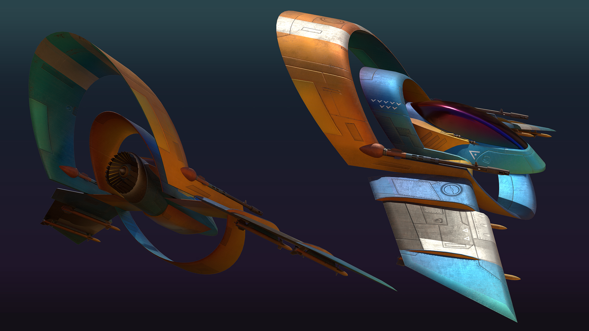 Personal Project - Original aircraft concept